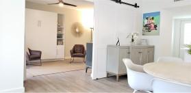 Newly Renovated, New to Market, 2 bed, 2 bath plus den Beachfront Condo, Sleeps 8