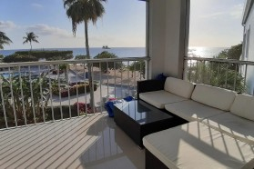 Elegant 2 Bed 2 Bath Beach Front Penthouse Condo on Southern end of Seven Mile Beach